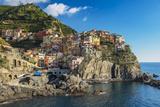 The Colorful Village of Manarola  Cinque Terre  Liguria  Italy
