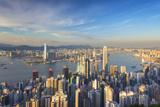 View of Kowloon and Hong Kong Island from Victoria Peak  Hong Kong