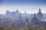Italy  Lazio  Rome  View Looking Towards Vittorio Emanuele Ii Monument