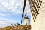 Spain  Castile–La Mancha  Consuegra Famous Windmills