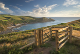 Kissing Gate on the South West Coast Path Near Crackington Haven  Cornwall  England