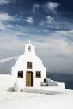 A Church in Oia, Santorini (Thira), Greece Papier Photo par Nadia Isakova