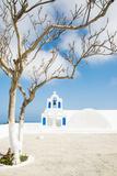 A Church in Oia, Santorini, Greece Papier Photo par Nadia Isakova