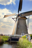 Netherlands  South Holland  Kinderdijk Windmills