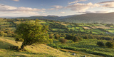 Rolling Countryside of the Brecon Beacons Near Crickhowell  South Wales