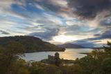 Eilean Donan Castle  Nr Dornie  Loch Alsh  Wester Ross  Western Highlands  Scotland  UK