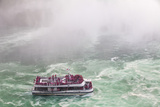 Hornblower Sightseeeing Boat at Horseshoe Falls  Niagara Falls