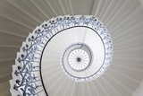 Spiral Staircase  the Queen's House  Greenwich  London  UK