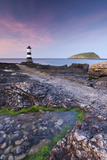 Penmon Point Lighthouse and Puffin Island  Anglesey  North Wales