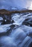 Waterfall on the River Sligachan  Isle of Skye  Scotland