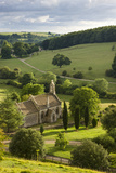 Church of St Mary the Virgin Surrounded by Beautiful Countryside  Lasborough in the Cotswolds