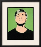 Self-Portrait  c1964 (on green)