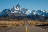 Road to El Chalten  Fitz Roy in Background