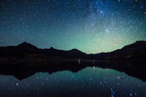 Milky Way Reflection at William's Lake Colorado