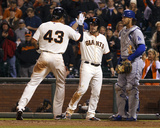 Apr 21  2014  Los Angeles Dodgers vs San Francisco Giants - Justin Maxwell  Andrew Susac