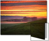 Colorful Sunrise and Clouds in the Petaluma Hills