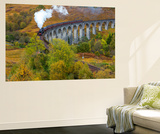 Jacobite or Harry Potter Steam Train Crossing Glenfinnan Viaduct  Lochaber
