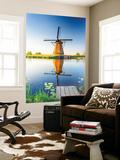 Netherlands  South Holland  Kinderdijk Windmills