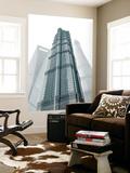 Jin Mao Tower  Shanghai Tower and Shanghai World Finance Center  Lujiazui  Pudong  Shanghai  China