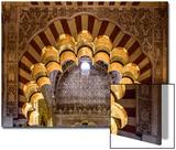 Spain  Andalusia  Cordoba Interior of the Mezquita (Mosque) of Cordoba