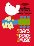 Woodstock - Festival Poster Aluminium par Epic Rights