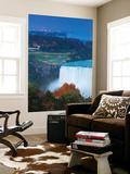 Canada and USA  Ontario and New York State  Niagara  Niagara Falls  View of Horseshoe Falls