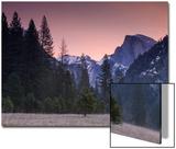 Pre Dawn at Half Dome, Yosemite Valley Acrylique par Vincent James