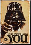 Star Wars, l'empire a besoin de toi Reproduction montée et encadrée