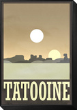 Tatooine Travel Poster