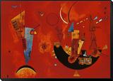 Pour et contre, vers 1929 Reproduction montée et encadrée par Wassily Kandinsky