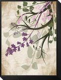 Lavender and Sage Florish II