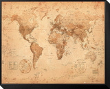World Map - Antique