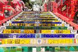 Escadaria Selaron  Rio De Janeiro  Brazil