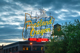 Famous Old Town Portland  Oregon Neon Sign