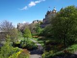 Princes Street Gardens  Edinburgh  Scotland