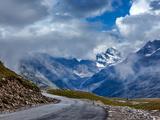 Road in Himalayas