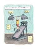The Seven Second Workout - New Yorker Cartoon