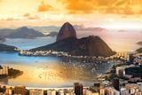 Rio De Janeiro  Brazil in Twilight