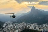 Sunset View of Rio De Janairo  Brazil