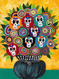 Sugar Skull Bouquet Giclée par Kerri Ambrosino
