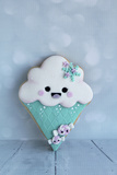 Snowcone Cookie