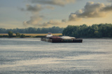 Barge on the River 1