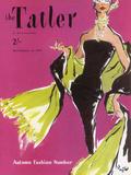 The Tatler, September 1955 Giclée par The Vintage Collection