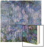 Waterlilies and Reflections of a Willow Tree  1916-19