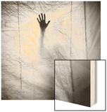 Shadow of a Hand Against Cloth