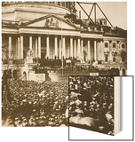 Inauguration of President Lincoln  4th March 1861