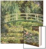 Bruecke in Monets Garten Mit Weissen Seerosen  1899