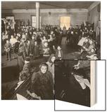 Immigrants Awaiting Examination at Ellis Island  1902