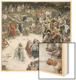 What Christ Saw from the Cross  Illustration for 'The Life of Christ'  C1886-96