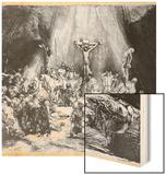 The Three Crosses  1653 (Drypoint)